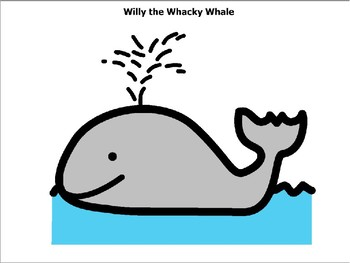 Willy the Whacky Wale Activity