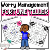 Social Skills Cootie Catcher Worry Management Fortune Tell