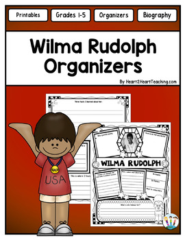 Wilma Rudolph Research Organizers: Black History Month & Women's History Month