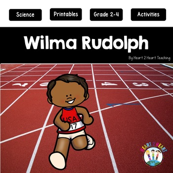 Wilma Rudolph Activity Pack {Articles, Activities & Flip Book}