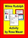 Wilma Rudolph Task Cards and Worksheet