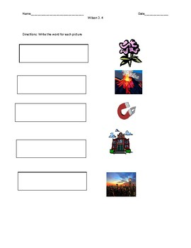 Multi syllabic words with closed syllables Activities