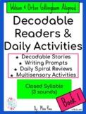 Phonics Bundles AND Word Study Activities BUNDLED * Books 1-12