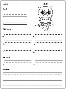 Wilson Foundations Spelling Test Papers