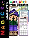 Second Grade Phonics 2 Syllable Silent E Word Work Level 2 Unit 6