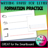 Letter Formation Writing Paper