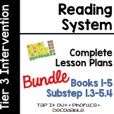 Reading System Tap It Out  Lesson Plans BUNDLE Substeps (B