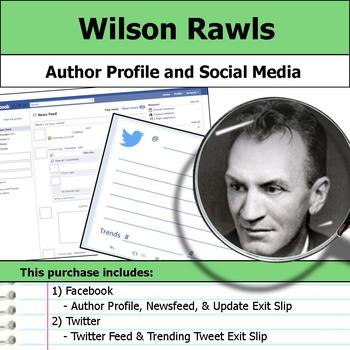 Wilson Rawls - Author Study - Profile and Social Media