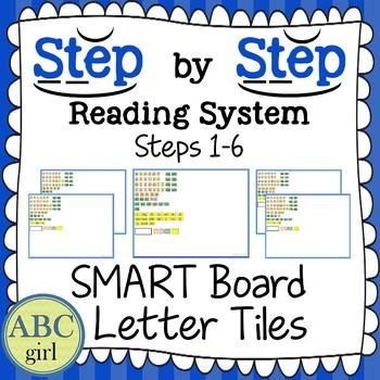 Wilson Reading System Steps 1-6 SMARTboard Letter Tiles (Sound Cards)