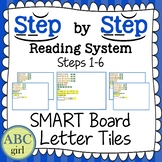 Reading System Steps 1-6 SMARTboard Letter Tile Sound Card