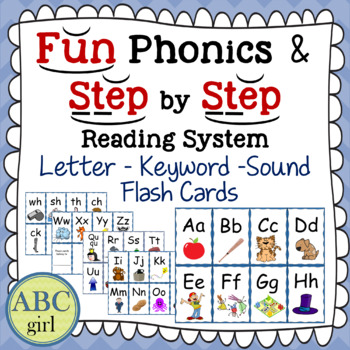 Wilson Reading and Fundations Letter-Keyword-Sound Flash Cards