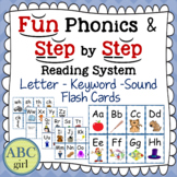 Fundationally FUN PHONICS & Reading System  Letter Keyword Sound Flash Cards