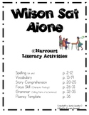 Wilson Sat Alone (Supplemental Materials)