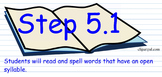 Wilson Step 5 SMART Notebook lessons