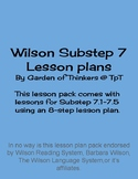 Wilson Sub Step 7 Lesson Pack