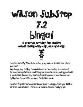 SubStep 7.2 Bingo!