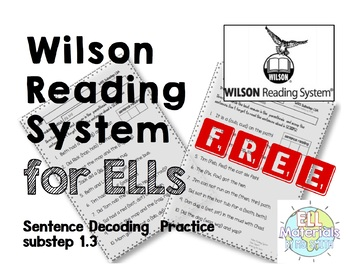 Wilson Substep 1.3 sentence decoding home support