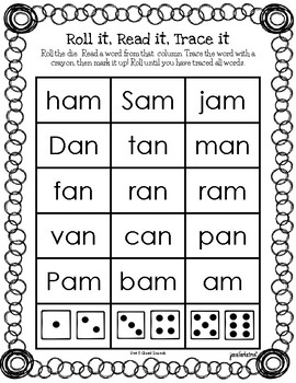 Wilson's Fundations Level 1 Units 5-7 Word Games