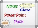 Wilson's Fourteen Points Pack (PPT, DOC, PDF)