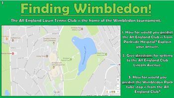 Wimbledon Maths Puzzles!
