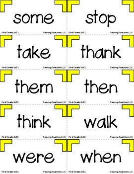 Win Back Words - Dolch Sight Words Games
