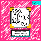 Win Back Words - Fry Phrases Games