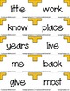 Win Back Words - Fry Words Games