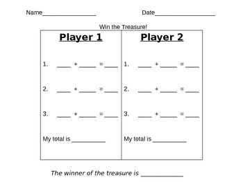 Win The Treasure!  - Money counting Game