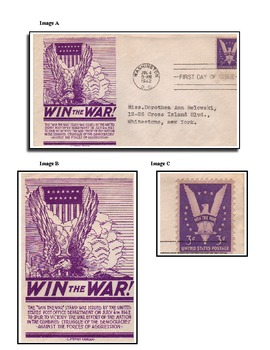 Win World War II - A Warm Up/Review Lesson Using First Day Covers