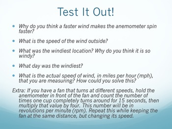 Wind Anemometer