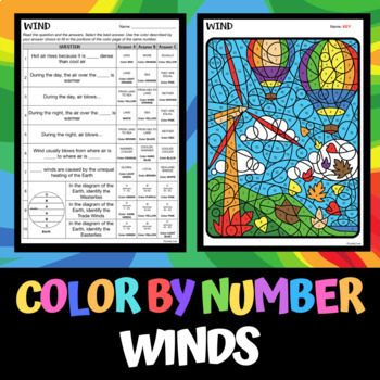 Wind - Color by Number