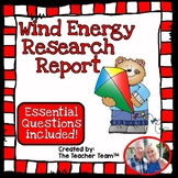 Wind Energy   Wind Energy Research Report