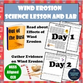 Erosion Lab and CER Activity NGSS 4th Grade Middle School 4ESS2-1 MS-ESS2-2