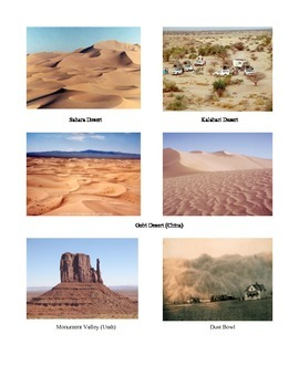 Wind Erosion Lesson Plan and Hands-on Activity