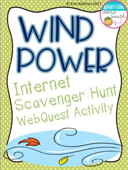 Wind Power Internet Scavenger Hunt WebQuest Activity