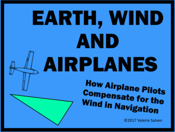 Wind Triangle Geometry—Earth, Wind and Airplanes—How pilots adjust for wind