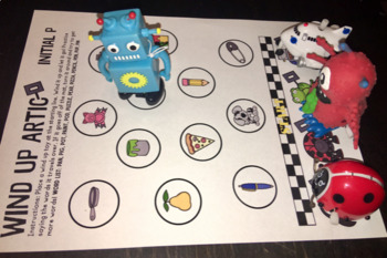 Wind Up Toy Companion FREEBIE for Articulation