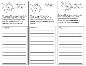 Wind & Water Energy Trifold