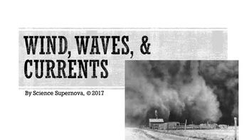 Wind, Waves, & Current PPT w/ Student Notes