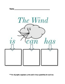 Wind, Weather, and Clouds Activities and Printables