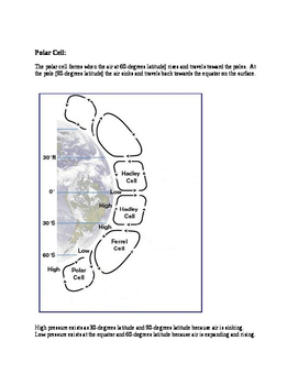 Wind and Pressure Belts in the Atmosphere jigsaw activity