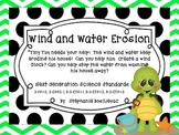 Wind and Water Erosion (Help Tiny Tim Build a Wind Block a