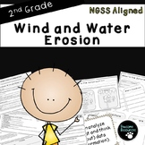 Wind and Water Erosion-NGSS Lesson (Second Grade-2-ESS2-1 and K-2-ETS1-3)