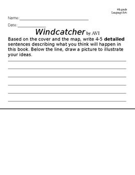Windcatcher Writing Prompt