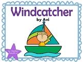 Windcatcher by Avi Comprehension and Vocabulary Task Cards