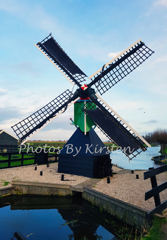 A Stock Photo of a Windmill