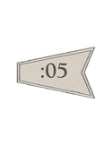 Windmill | Farmhouse Clock labels