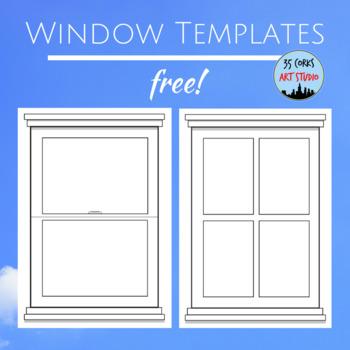 Window Pane Template - Free!