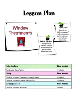 Window Treatments Lesson