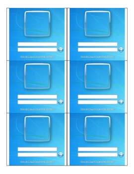 Windows 7 Login Practice